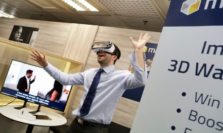 MIPIM PropTech TechHub exhibit